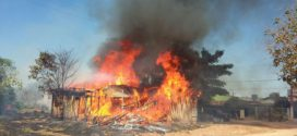 Incêndio destrói completamente depósito de madeira no bairro Vila Nova