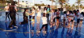 Começou ontem a 1ª Colônia de Férias do Hamoa Resort Residencial