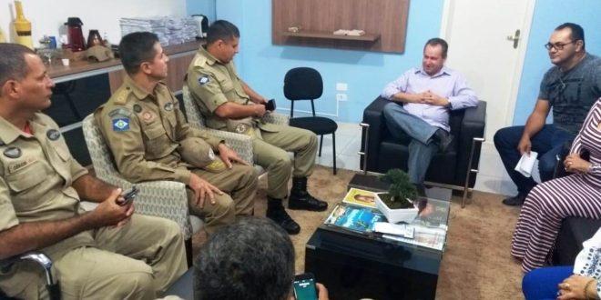 INSPEÇÃO – Comandante Geral do Corpo de Bombeiros visita Escola Militar de Alta Floresta