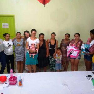 Grupo de Gestantes de Nova Monte Verde recebe palestra dobre a importância da Amamentação