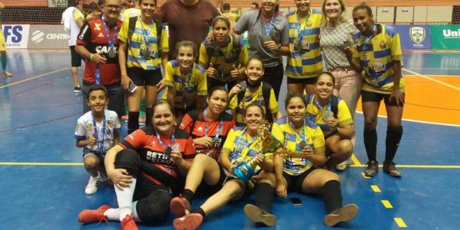 Peixoto de Azevedo conquista um brilhante Vice Campeonato da Copa Centro América de Futsal Feminino