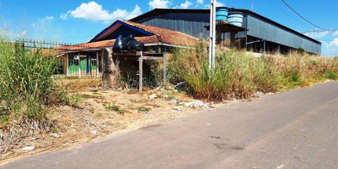 Após reclamações de pais e moradores, matagal da Escola Cecilia Meireles é limpo