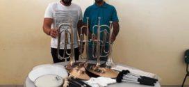 Fanfarra Municipal de Alta Floresta recebe novos instrumentos