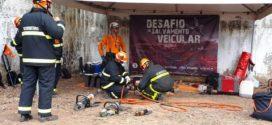 Soldados do Corpo de Bombeiros recebem capacitação sobre salvamento veicular