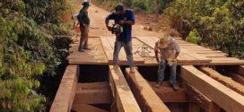 Ponte da Vicinal 1ª Norte ficará pronta em até 20 dias, confirmou parlamentar