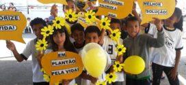 """""""SETEMBRO AMARELO"""": Ação visando o incentivo a prevenção do suicídio é promovida em Alta Floresta"""