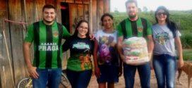 Associação acadêmica Atlética Praga realiza doação de cestas básicas em Alta Floresta