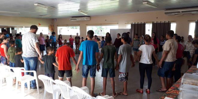 Atividades especiais alusivas ao Dia das Crianças é realizada com os usuários dos serviços de convivência em Alta Floresta