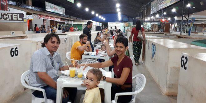 Grande público marcou presença no 2º Festival do Pastel realizado ontem em Alta Floresta