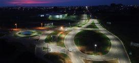 'Presente para Alta Floresta': Hamoa Residencial concluiu a instalação da rede de iluminação em LED do trevo da MT-208