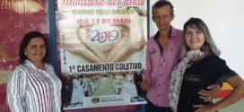 """""""Casamento coletivo"""" marcará início das atividades do mês de aniversário"""