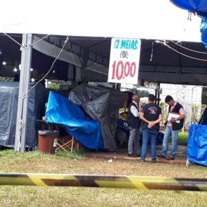 Procon vistoriou 'Feirão do Brás' em Alta Floresta; irregularidades foram apontadas mas logo corrigidas