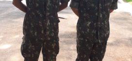 Comandante da 9ª Região Militar esteve em Alta Floresta fazendo visita de orientação aos atiradores do TG