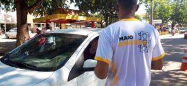 TRÂNSITO SEGURO:  Panfletagem e orientações marcaram o início da Campanha 'Maio Amarelo' em Alta Floresta
