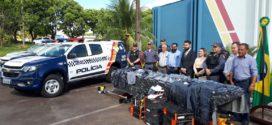 Novos uniformes, equipamentos e viaturas foram entregues para o 9º Comando Regional da Polícia Militar de Alta Floresta