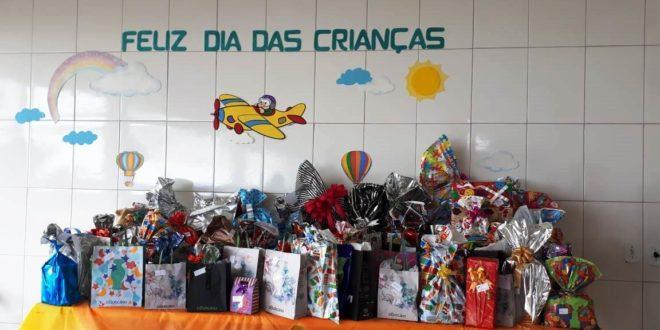 Alunos da APAE de Alta Floresta receberam presentes especiais em comemoração ao Dia das Crianças