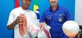Secretaria de Esportes realizou doação de materiais esportivos para a APAE de Alta Floresta