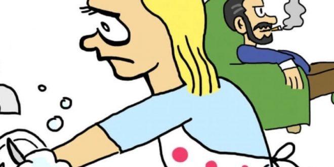 """MACHISMO: Homem agride esposa por deixar filho lavar à louça: """"Isso é coisa de mulher"""", alegou o suspeito"""