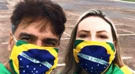"""Guilherme de Pádua vai a ato pró-Bolosonaro: """"O Brasil precisa mudar"""""""