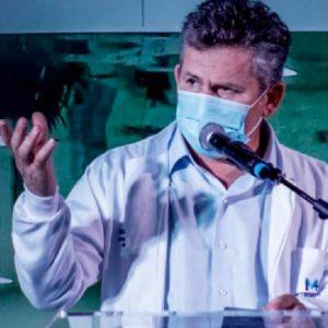 Após se curar da Covid-19, governador pede que se busque ajuda antes de sintomas se agravarem