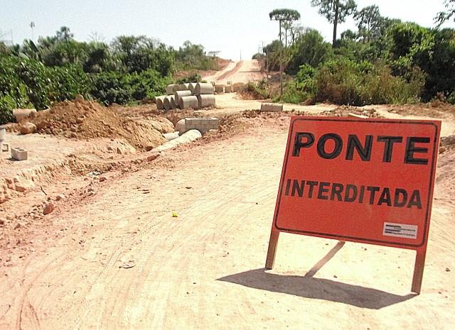 CHTP diz que vai retomar pavimentação da Teles Pires ainda este mês