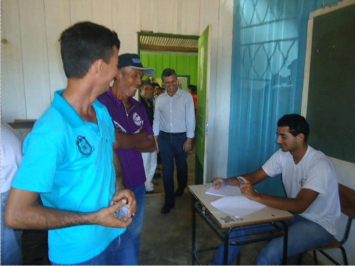 Secretaria de Saúde promove mutirão para os homens da Gleba Arumã  Município de Apiacás