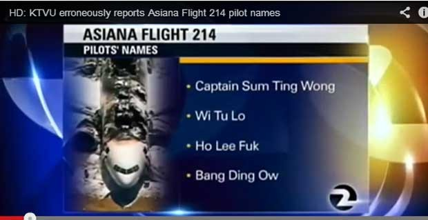 TV pede desculpa por veicular nomes falsos de pilotos
