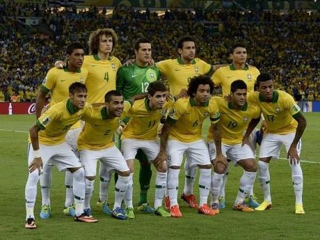 escalação brasileira