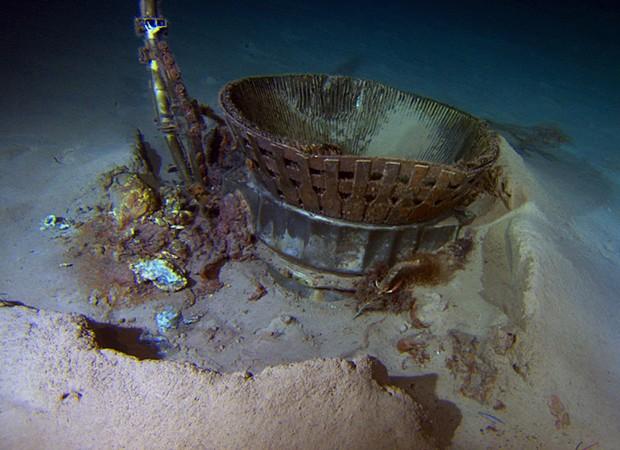 motor encontrado no mar é da Apollo 11