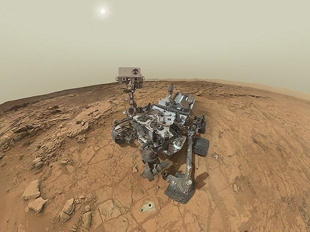 Há 3,5 bilhões de anos seria possível beber água em Marte