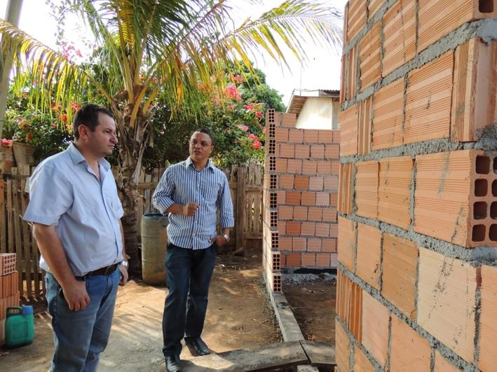 Construção de casas populares segue em ritmo acelerado em Alta Floresta