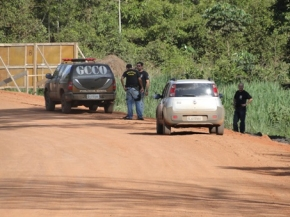 Polícias realizam cerco a quadrilha que assaltou agências em Vila Rica