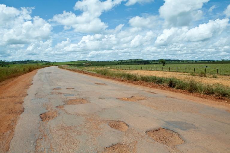 Trecho entre Alta Floresta e Cuiabá é um dos piores do país