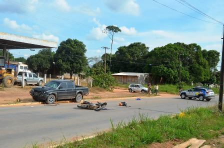 Motociclista que sofreu acidente em Paranaíta não resistiu aos ferimentos