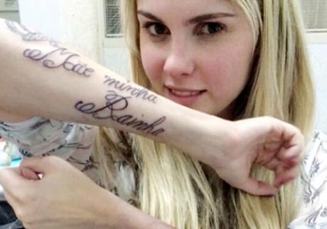 Tatuagem de gosto duvidoso