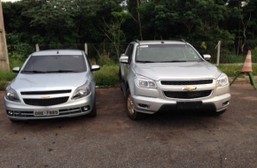 Veículos roubados no interior de MT