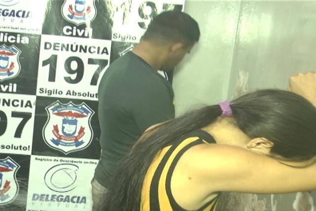 Casal preso fazendo sexo em cuiabá