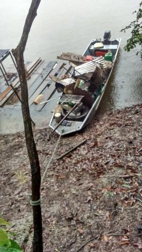 Até debaixo da chuva, Mutirão de Limpeza do Rio Teles Pires foi o melhor5