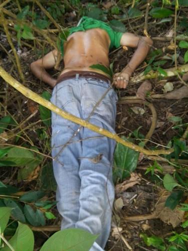 homem morto em paranaita sem identificação