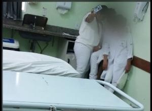 Enfermeiras selfie