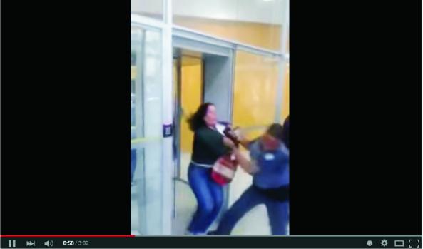 Policial agride medica em sp