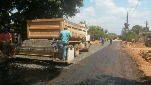 Prefeitura de Alta Floresta conclui pavimentação da Rua Nazaré-3