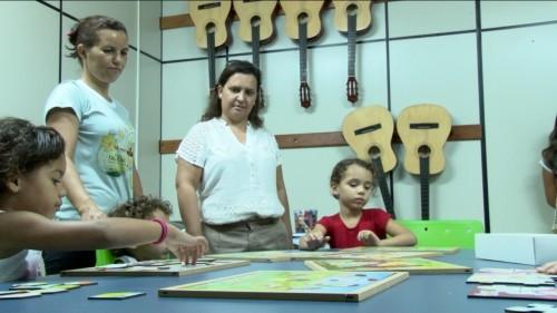 Luzmaia Quixabeira visita grupo de senhoras do PIAF-1