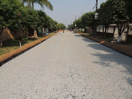 Prefeitura de Alta Floresta conclui pavimentação de 2.520 metros quadrados na Rua Paraná-7