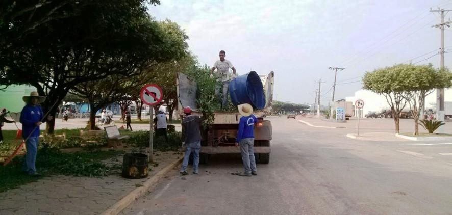 limpeza ruas CAPA