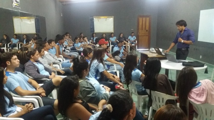 De Cara Limpa Contra as Drogas trabalha método diferenciado de palestras com alunos de Alta Floresta