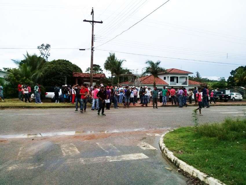 Clima tenso em Paranaíta (2)