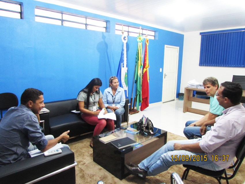 Reunião de alinhamento junto aos representantes da EESM e Prefeitura de Alta Floresta