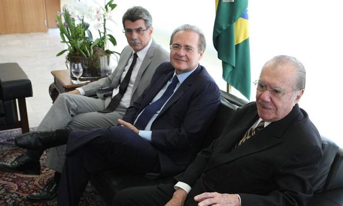 Jucá, Renan e Sarney
