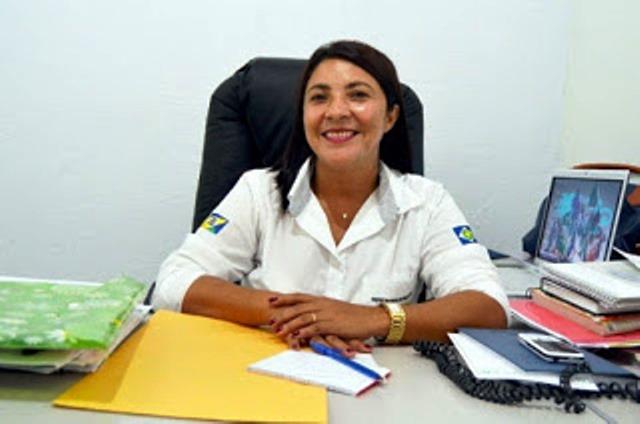 Sônia Berlanda, candidata do PMDB em Paranaíta